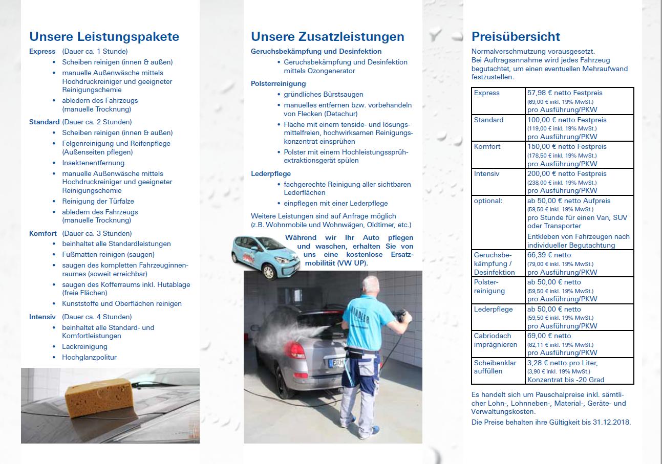 Unique Hausreinigung Flyer Photo - FORTSETZUNG ARBEITSBLATT ...